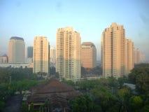 雅加达大厦风景 免版税库存图片