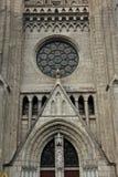 雅加达 2017年5月29日, 雅加达大教堂门面建筑学 库存照片