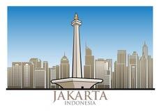 雅加达 免版税图库摄影