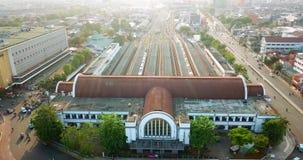 雅加达Kota火车站空中英尺长度  影视素材