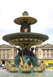 雅屈埃设计的著名喷泉伊格曼山Hittorf 库存图片