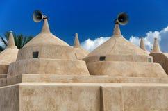 雅米AlHamoda清真寺在Jalan巴尼Bu阿里,阿曼苏丹国 免版税图库摄影