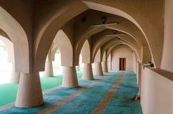 雅米AlHamoda清真寺在Jalan巴尼Bu阿里,阿曼苏丹国 库存照片