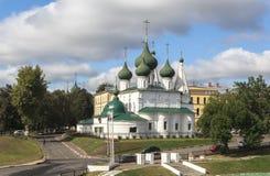 雅罗斯拉夫尔市市的,俄罗斯教会 库存图片