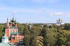 雅罗斯拉夫尔市市的,俄罗斯教会 图库摄影