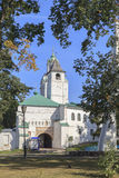 雅罗斯拉夫尔市市的,俄罗斯教会 免版税库存图片