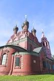 雅罗斯拉夫尔市市的,俄罗斯教会 库存照片