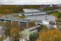 雅罗斯拉夫尔市是其中一个最旧的俄国城市,建立在XI世纪 博物馆储备雅罗斯拉夫尔市克里姆林宫 从响铃的看法 库存照片