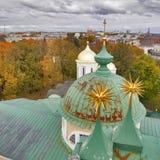 雅罗斯拉夫尔市是其中一个最旧的俄国城市,建立在XI世纪 博物馆储备雅罗斯拉夫尔市克里姆林宫 从响铃的看法 库存图片
