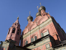 雅罗斯拉夫尔市,突然显现的教会 免版税库存图片