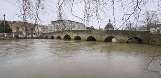 雅芳河畔布拉福路桥梁 免版税库存照片