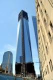 集中地面nyc一个商业世界零 库存图片