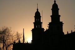 集中城市比勒陀利亚 库存图片