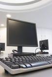 集中计算机训练 库存照片