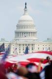 集会华盛顿 免版税库存图片