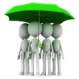 集体保险 免版税库存图片