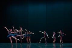 集体分裂认为古典芭蕾` Austen汇集` 免版税库存图片