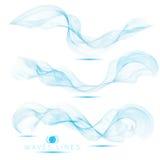 集合单独美好的混合巨型的波浪提取背景 库存图片