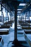 集合工厂线路 库存照片