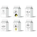 集合微笑的纸组装014 皇族释放例证