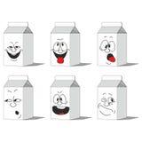 集合微笑的纸组装015 皇族释放例证