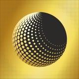 集合抽象中间影调3D spheres_32 免版税图库摄影