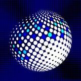 集合抽象中间影调3D spheres_29 库存照片