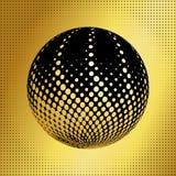 集合抽象中间影调3D spheres_39 库存照片