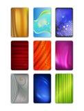 集合摘要色的布背景 免版税图库摄影