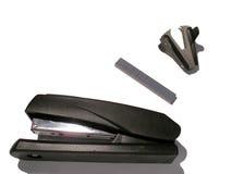 集合钉书针工具 免版税库存照片