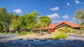 集居区HaGoshrim,以色列旅馆  免版税库存照片