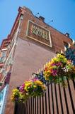 集市广场在维多利亚,不列颠哥伦比亚省 免版税库存图片