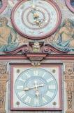 集市广场的市政厅在蒂宾根,德国 免版税图库摄影