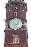 集市广场的,钟楼,弗罗茨瓦夫,波兰哥特式弗罗茨瓦夫老城镇厅 免版税图库摄影