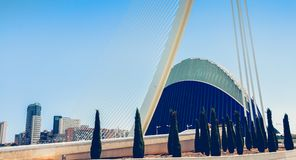 集市的外视图在Th中间的一个现代大厦 免版税库存照片