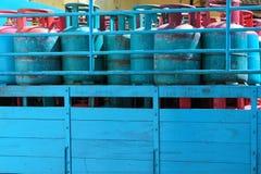 集气筒-液化石油气(LPG) 库存照片