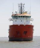 集装箱船 免版税图库摄影