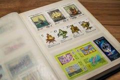 集邮16 免版税库存图片