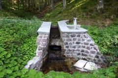 水集水量 免版税库存照片