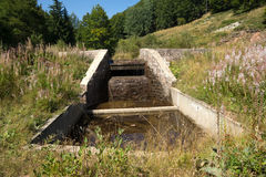 水集水量 库存图片
