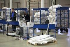 雇员在工作场所 免版税库存图片