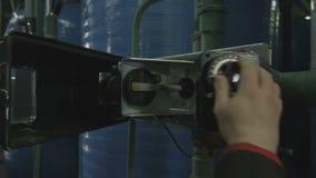 雇员在黑案件检查数据来测量 影视素材