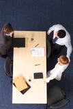 雇员新的介绍 免版税库存照片