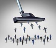 雇员管理概念 免版税库存图片