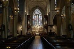 雍容教会, NYC 免版税库存图片