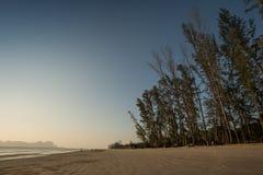 雍陵海滩, Sikao, Trang,泰国 库存照片