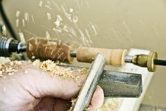 雕刻启用的木头 库存图片