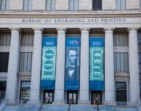 雕刻和印刷局 免版税库存照片