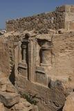 雕刻在国王的坟茔 免版税库存照片