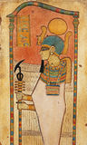 雕刻埃及石头 免版税库存图片